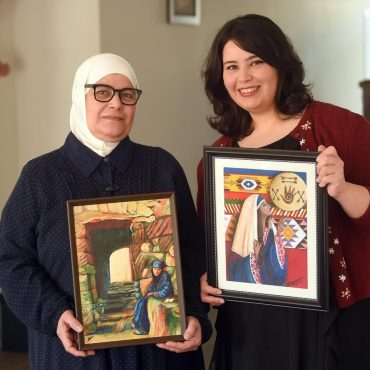 Syrian Mother & Daughter Connect to Their Lost Home Through Art